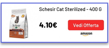 Schesir Cat Sterilized - 400 Gr